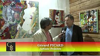 Gérard PICARD artiste Peintre expose à la Galerie Boutique Lana de Toulouse