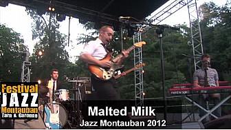 Concert de Malted Milk au Jazz Montauban 2012: un septor pour ceux qui aiment la Soul