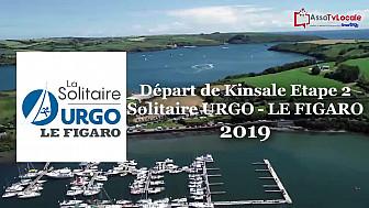 Solitaire URGO  LE FIGARO 2019: Départ de Kinsale deuxième étape de la 50ème édition 2019 @Kinsale @LaSolitaire_50e