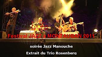 JAZZ MANOUCHE :  The Trio Rosenberg avec le violonniste Tim Kliphuis @mlecomte #Tvlocale_fr
