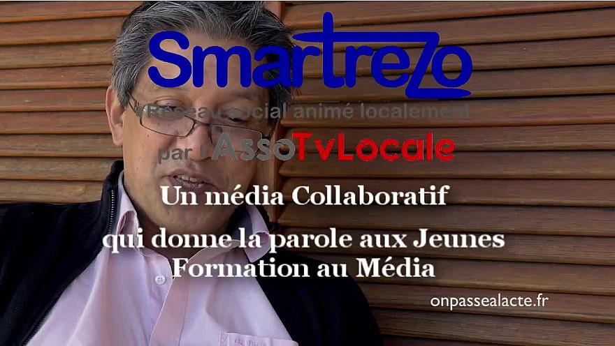 Smartrezo se doit avec l'assoTvLocale de former au Média les Jeunes et les moins jeunes